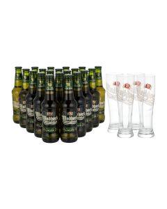 Sonderpaket - 20  x Windhoek Lager plus GRATIS Gläser