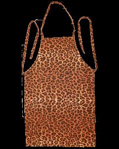 Schürze Leoparden Muster