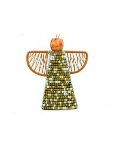 Ikhoba Weihnachtsbaumschmuck Engel gold