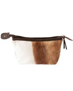 Kleine Springbokfell Tasche - 19cm x 13cm
