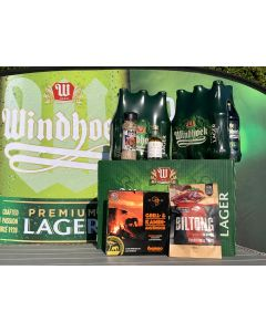 XL Braai Paket mit gratis Windhoek Lager Grillschürze
