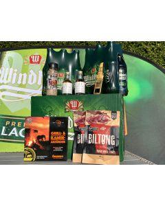 XXL Braai Paket mit gratis Windhoek Lager Grillschürze