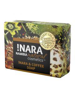 !Nara Seife Kaffee & Zimt, handgemacht - 80 g