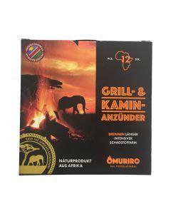 Omuriro – Grill- und Kaminanzünder aus Afrika